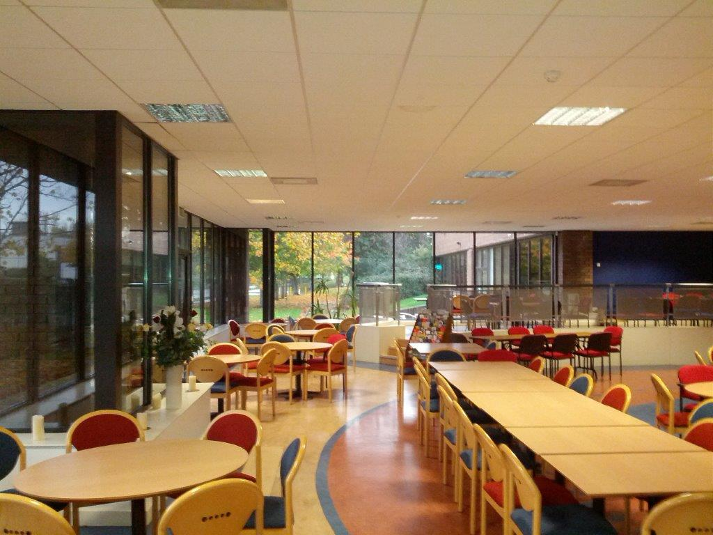 Building Refurbishments Works to Canteen at Europa Training Centre Dublin
