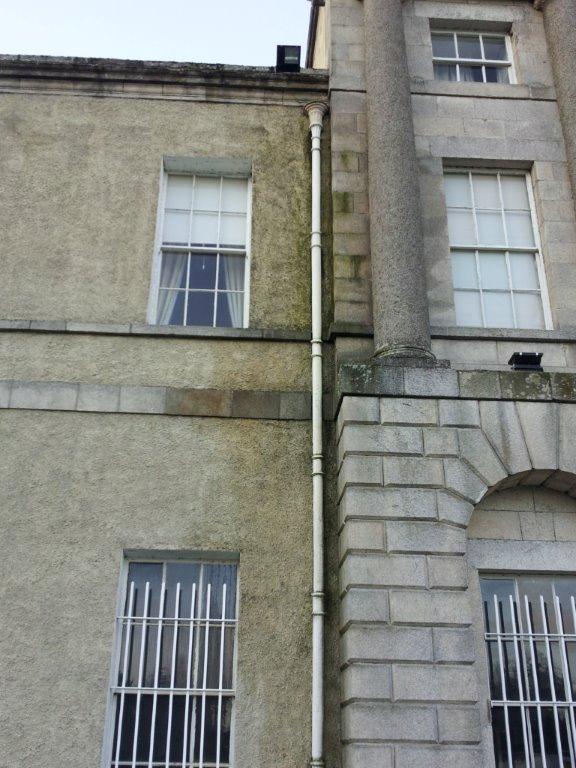 Internal External Dampness Repairs to Italian Ambassoders Residence Dublin