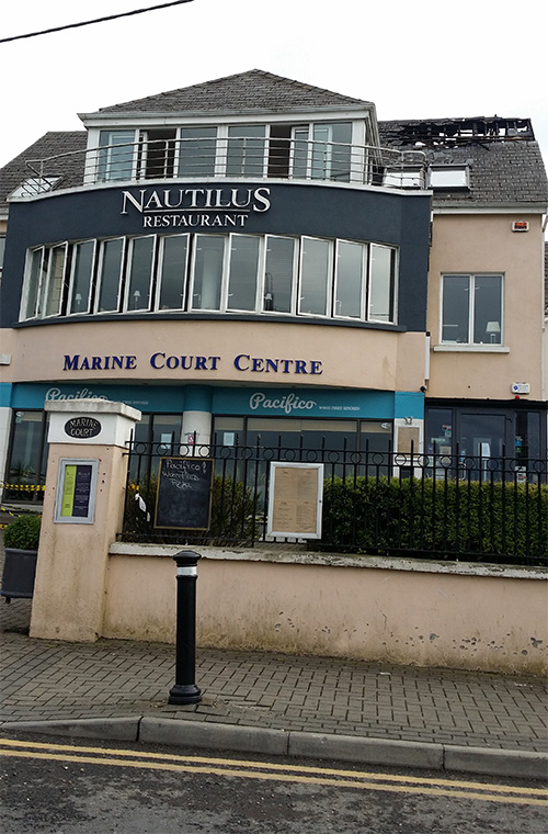 Building Renovation Works Marine Court Centre Malahide Co Dublin