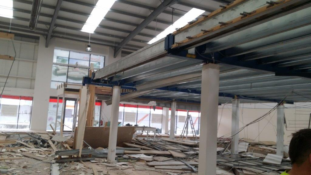 Building Renovation Works DFS Carrickmines Dublin